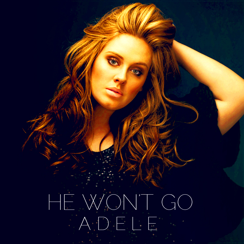 He Won't Go Lyrics - Adele