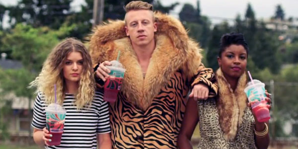 Macklemore - Thrift Shop Lyrics
