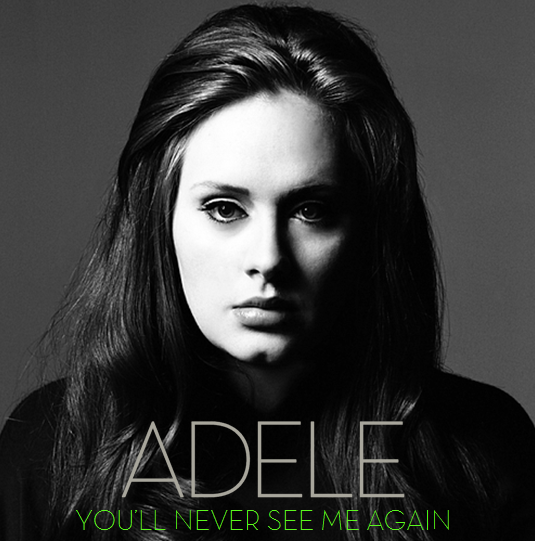 You'll Never See Me Again Lyrics - Adele