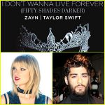 Fifty Shades Darker – I Don't Wanna Live Forever Free Song Lyrics