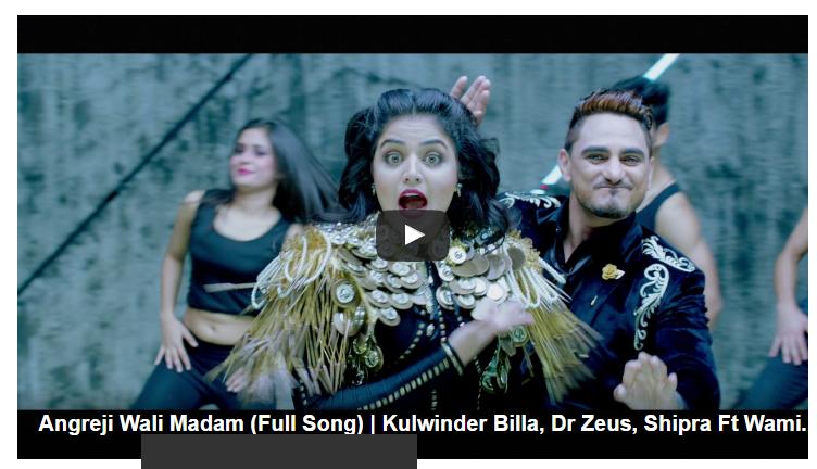 angrejy wali madam song by kulvinder billa