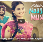 Mehtab Virk – Naughty Munda Lyrics