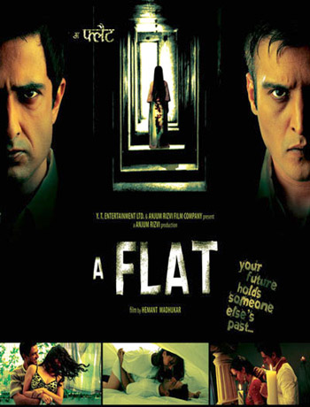 a flat movie poster image