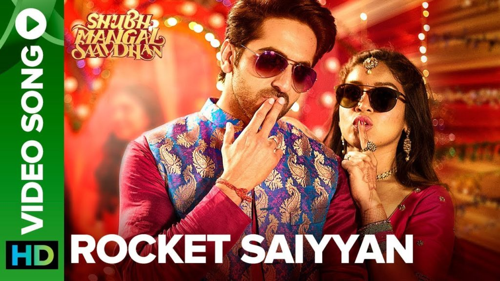 Rocket Saiyyan Lyrics from Shubh Mangal Saavdhan