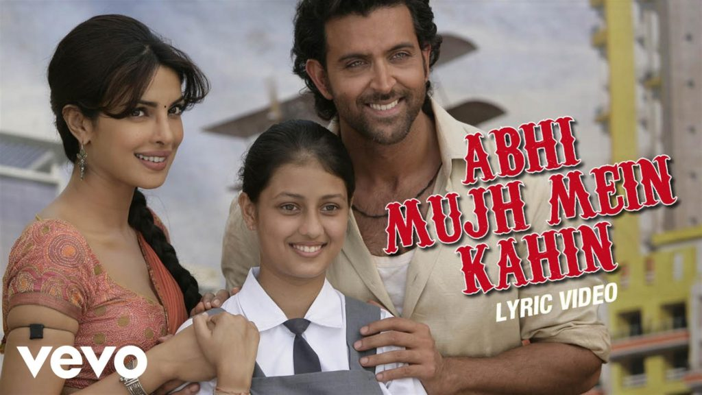 Abhi Mujh Mein Kahin‬ Lyrics of Sonu Nigam from Agneepath Movie