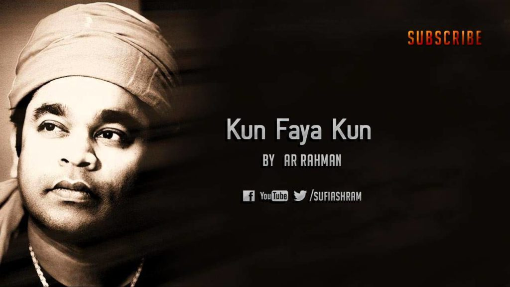 Kun Faya Kun Lyrics of AR Rahman, Javed Ali and Ranbir Kapoor from Rockstar Movie
