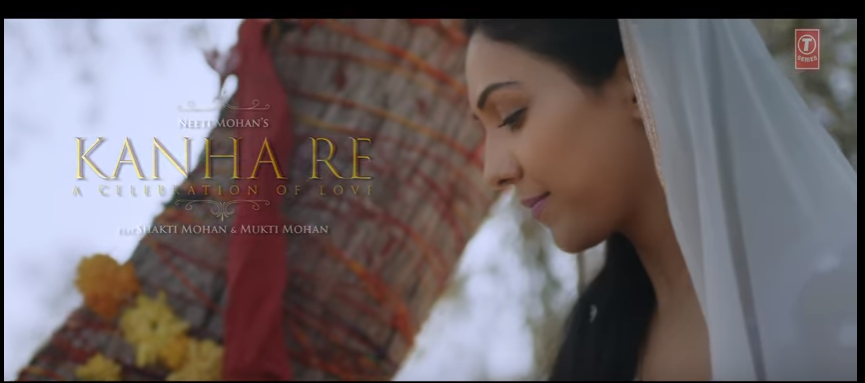image of KANHA RE song lyrics by Neeti Mohan, Shakti Mohan, Mukti Mohan video song