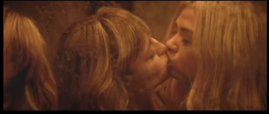 kissing love sex intimate seen photo songs Hot images of Expectations Palm Dreams Hayley Kiyoko Album Cover Music Video Song Lyrics