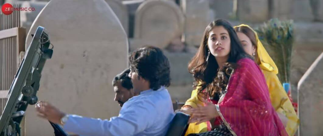 dhadak song love story janhvi kapoor and ishan khattar
