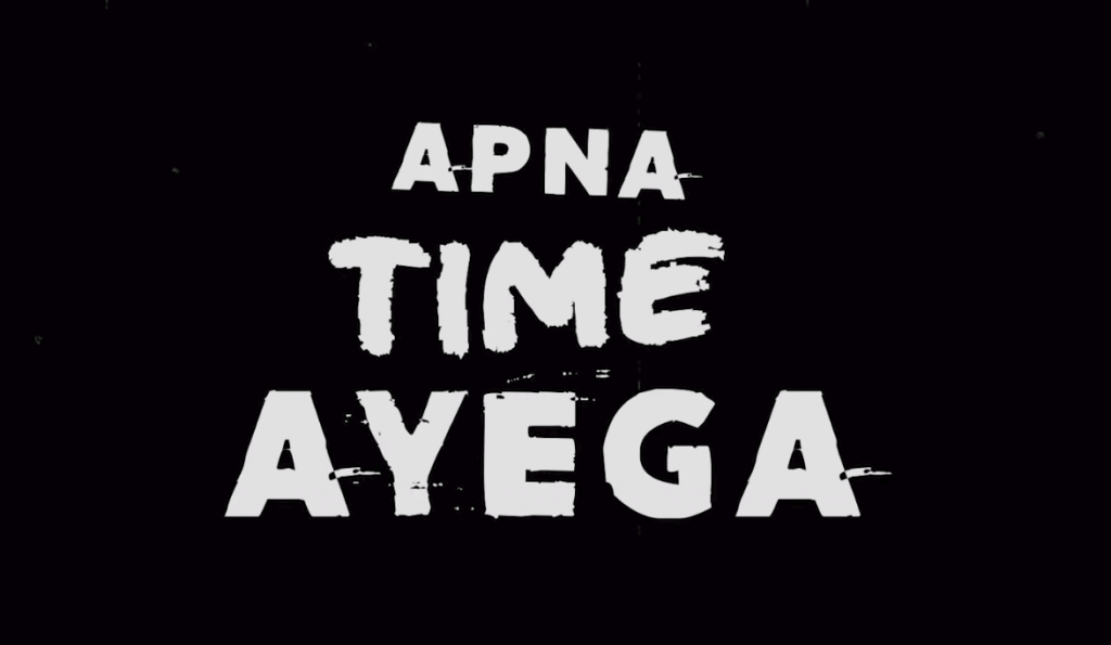 Ranveer singh song apna time ayega