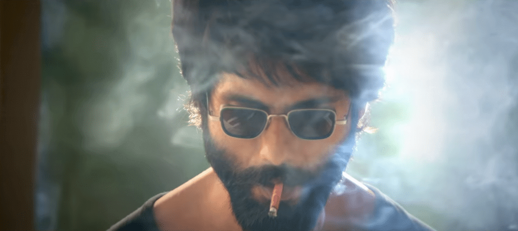 Rowdy Look of kabir singh trailer