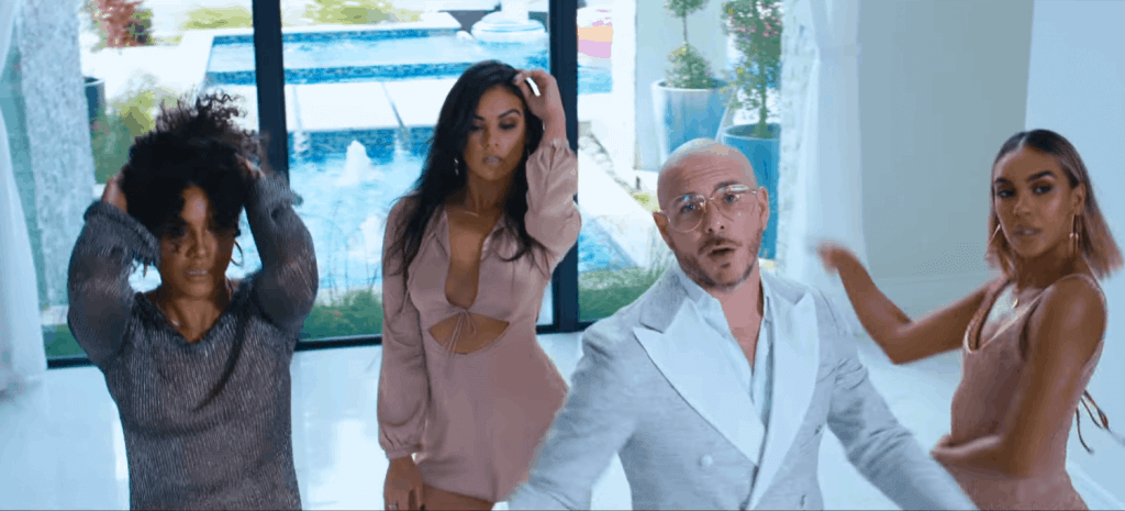 pitbull feat in slowly slowly song 2019 image