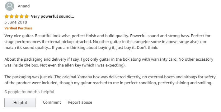 Review of Yamaha F310 ultimate guitar images