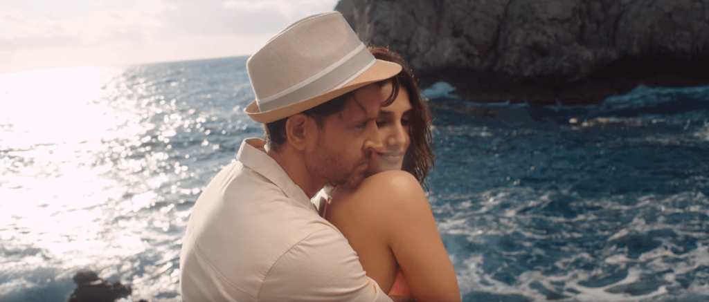 Vaani kapoor For Ghoonguru Song at beaches of Positano of Italy